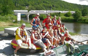 2016 Schlauchboottour Kr.Hufe Start Alle
