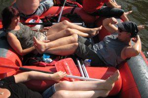 2016 Schlauchboottour Kr.Hufe faule Frauen